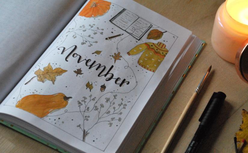 Bullet Journal – NovemberSetup
