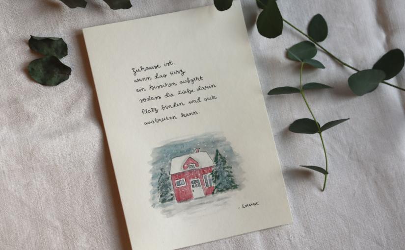 10 DIY Weihnachtskarten